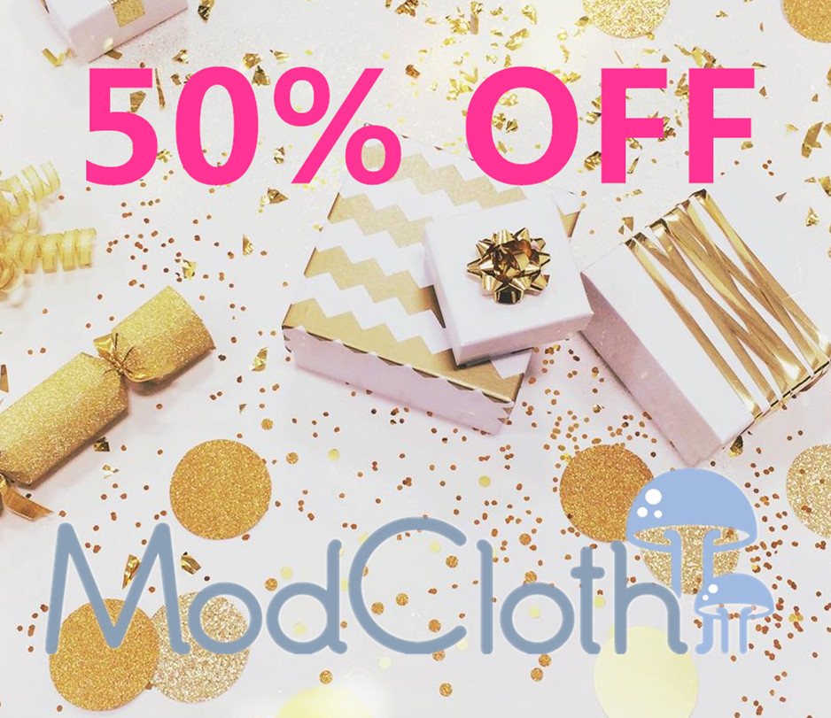 50% Off New Markdown Sale @ ModCloth