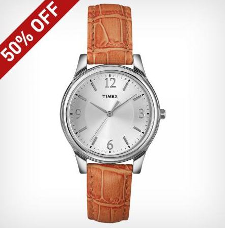 Up to 50% Off  Select Styles + Free Shipping @ Timex