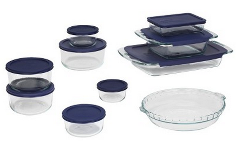 $49.99 + $20 Gift Card Pyrex 19 Piece Bake and Store Set - Clear