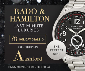 Up to 73% Off + FS Rado and Hamilton Event @ Ashford