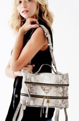 $40 GUESS Presley Printed Convertible Flap Pack