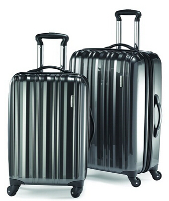 70% off Samsonite Two-Piece Spinner Luggage Sets @ Amazon.com