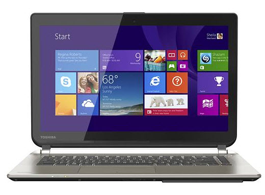 "$549.99 Toshiba Satellite 14"" Touch-Screen Laptop with Haswell Core i5"