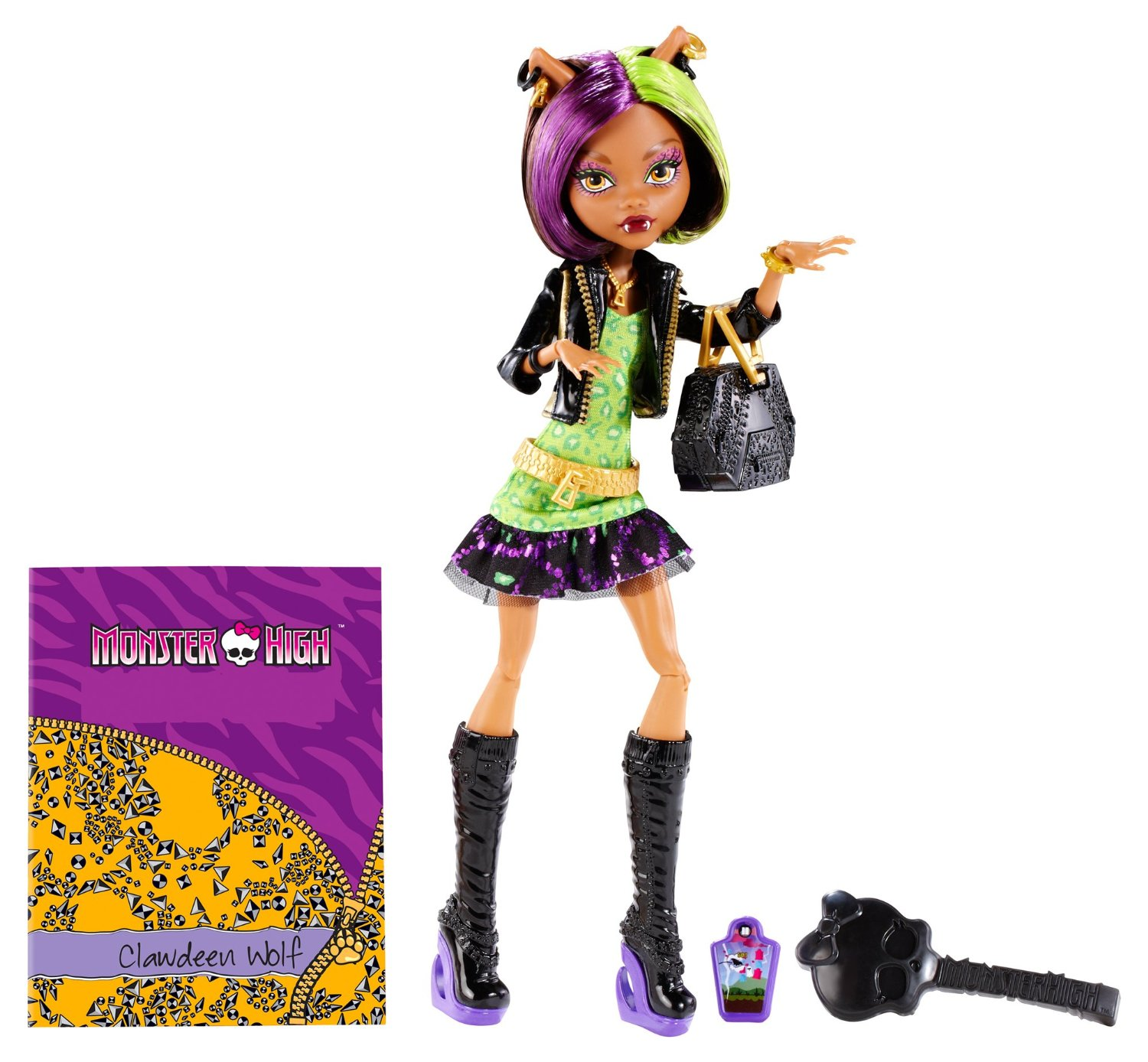 $6.65 Monster High New Scaremester Clawdeen Wolf Fashion Doll