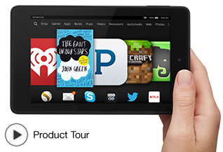 """$79 Kindle Fire HD 6 8GB 6"""" Touchscreen Tablet"""