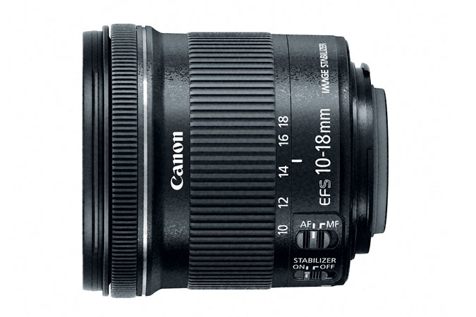 $189.99Canon EF-S 10-18mm f/4.5-5.6 IS STM Refurbished
