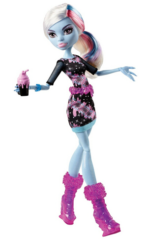 $5.59 Monster High Coffin Bean Abbey Bominable Doll
