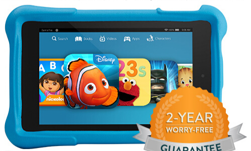 """From $129 Fire HD 7"""" Kids Edition Tablet @ Amazon.com"""