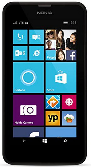 $49.99 AT&T Nokia Lumia 635 White No Contract Smart Phone