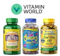 BOGO Free + Extra up to $30 Off + FSSitewide @ Vitamin World