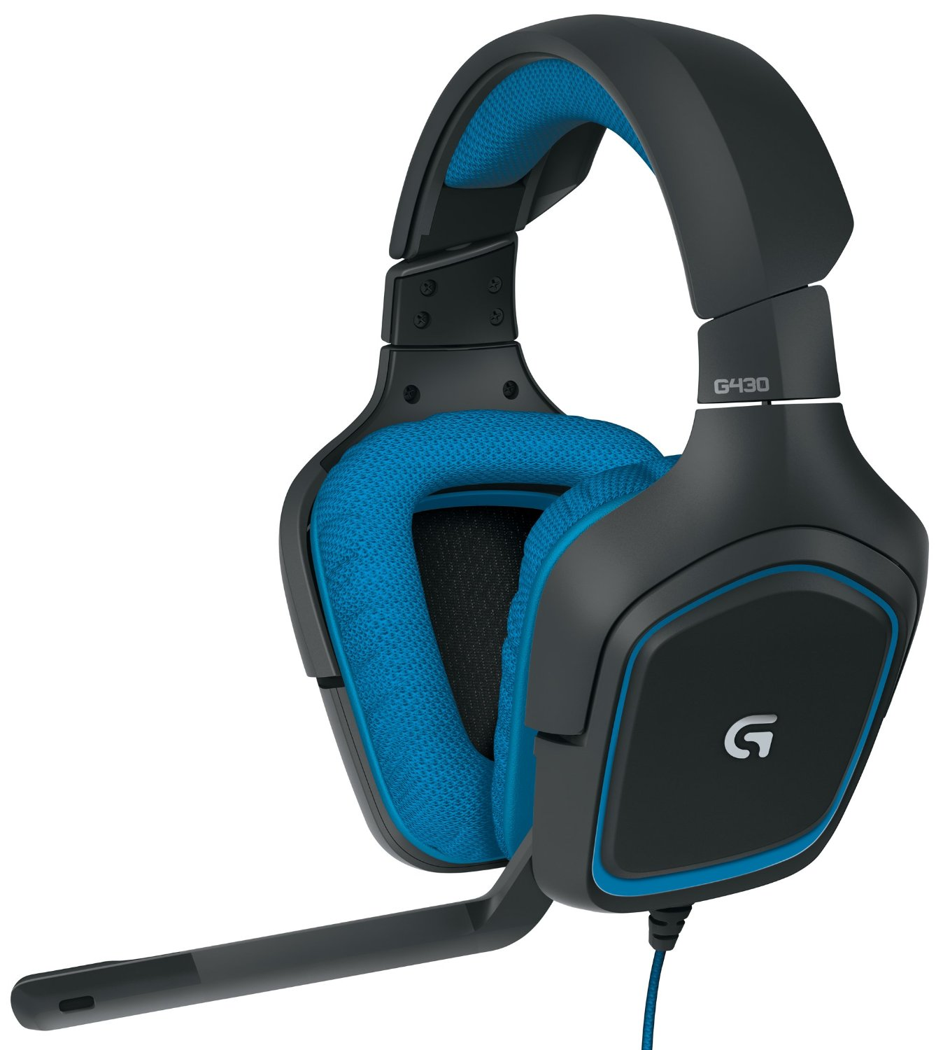 $39.99 Logitech G430 Surround Sound Gaming Headset with Dolby 7.1 Technology