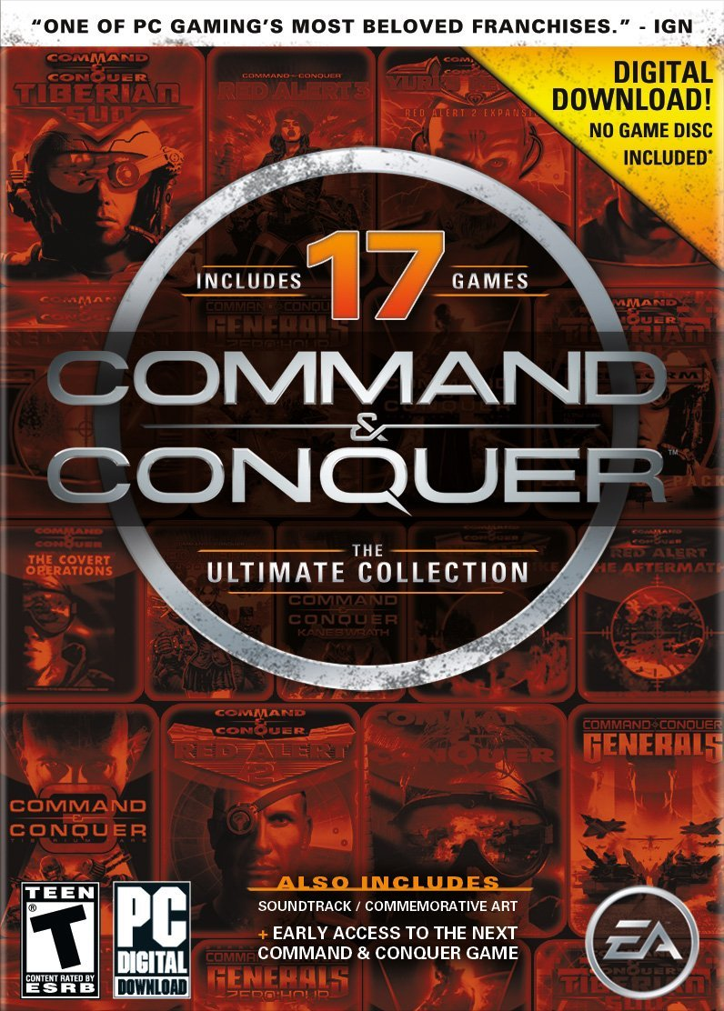 $4.99 Command and Conquer The Ultimate Collection [Online Game Code]