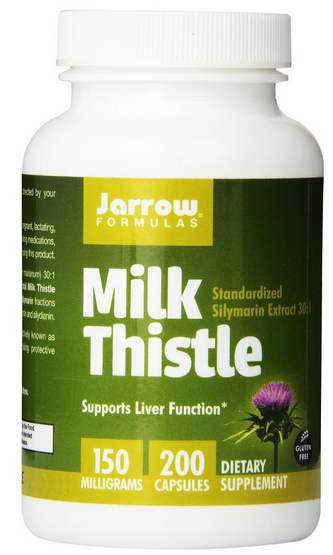 Jarrow Formulas Milk Thistle Standardized Silymarin