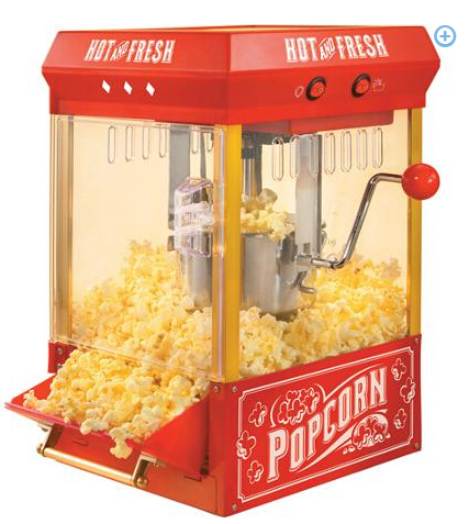 Nostalgia Electrics Kettle Popcorn Popper, KPM200