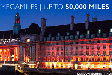 Earn up to 50,000 miles With Marriott Rewards MegaMiles