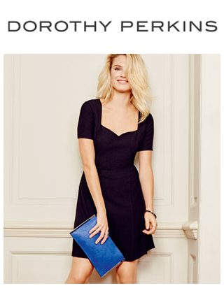 Up to 50% offEverything @ Dorothy Perkins
