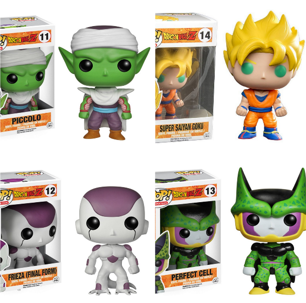 From $9.68 Funko DragonBall Z Figures @ Amazon.com
