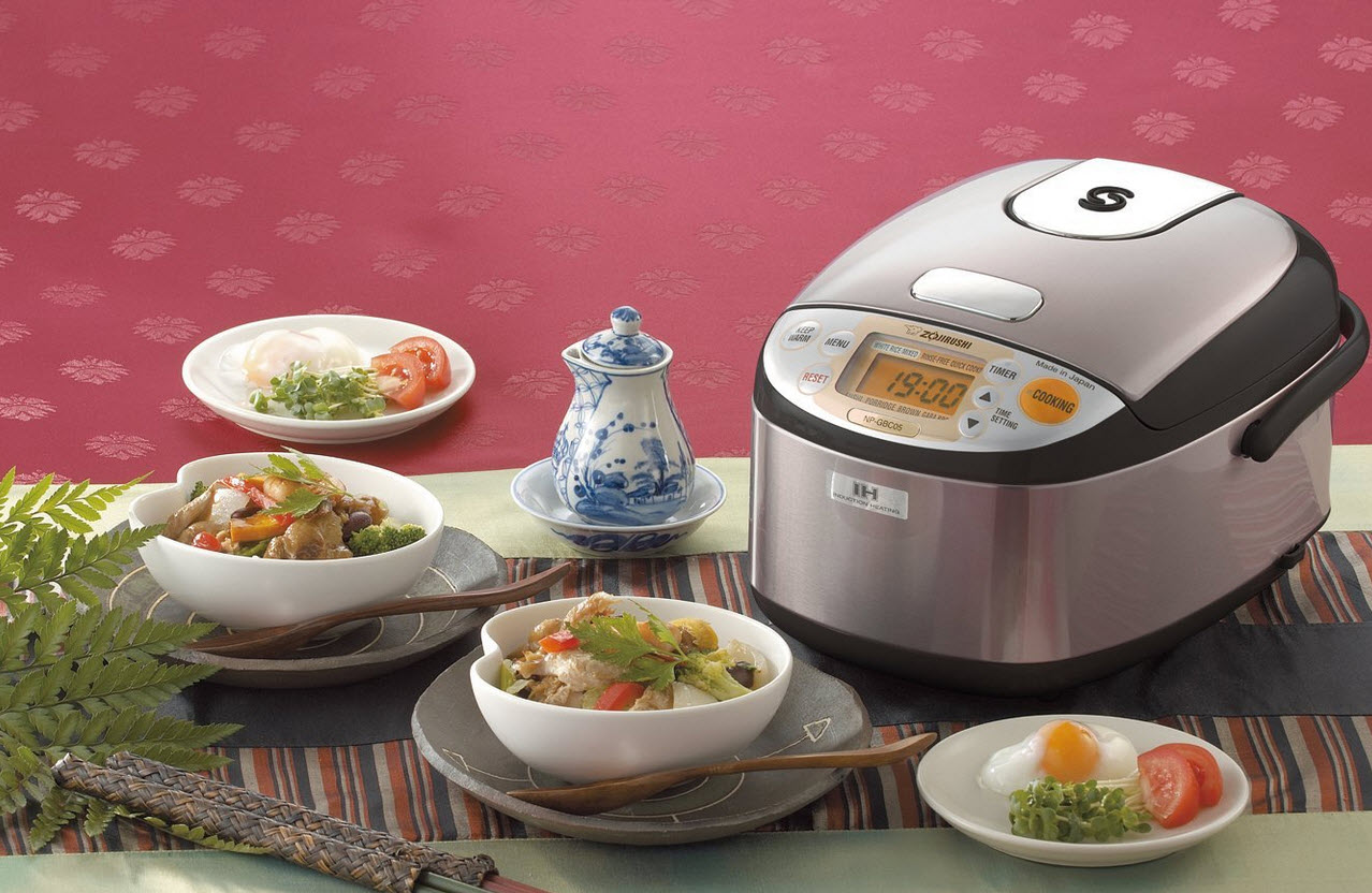 $212.99 Zojirushi NP-GBC05-XT Induction Heating System Rice Cooker and Warmer, Stainless Dark Brown