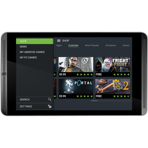 "$399.99 NVIDIA 32GB SHIELD 8"" Tablet (4G LTE, Unlocked)  + $30 Gift Card +Wireless Controller"