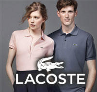 Up to 50% OffSemi-Annual Sale @ Lacoste
