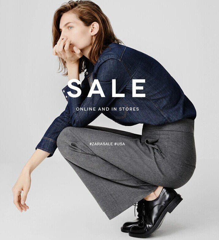 Up to 70% Off  Winter Sale @ Zara