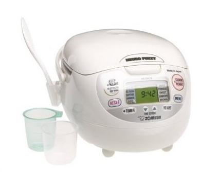 Zojirushi NS-ZCC18 10-Cup Neuro Fuzzy Rice Cooker and Warmer
