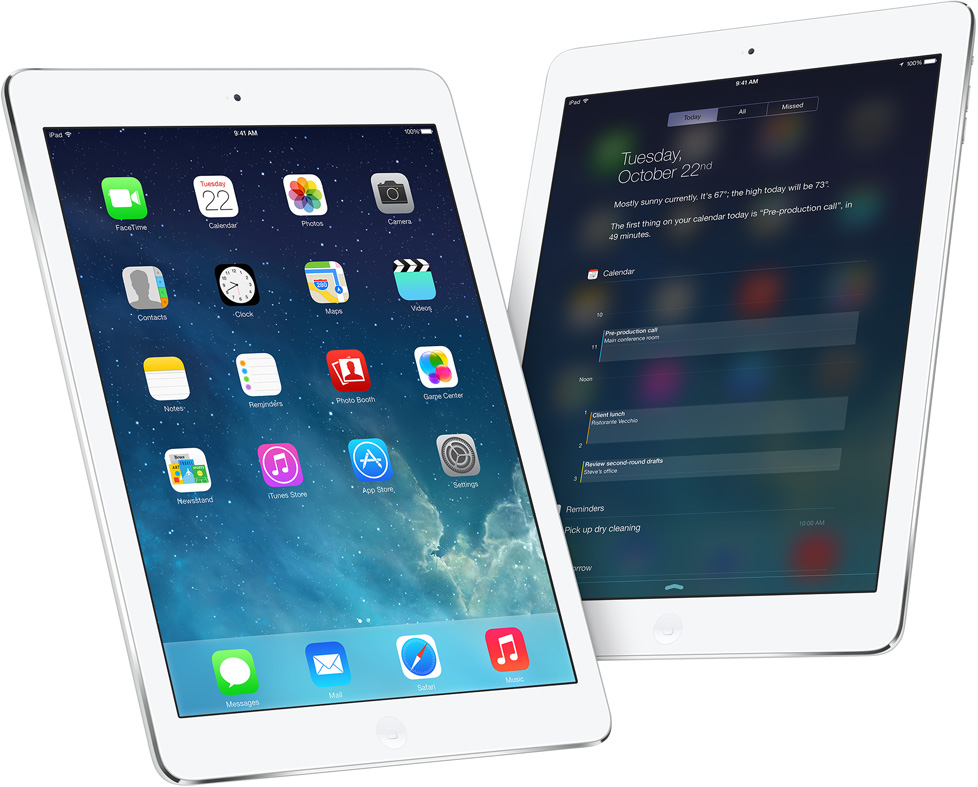 "$359.99 Apple iPad Air 32GB, 9.7"" Retina Display, Wi-Fi"