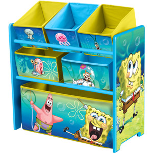 From $23.5 Character Corner Toddler/Kids' Playroom Multi-Bin Toy Organizer (Your Choice of Character)