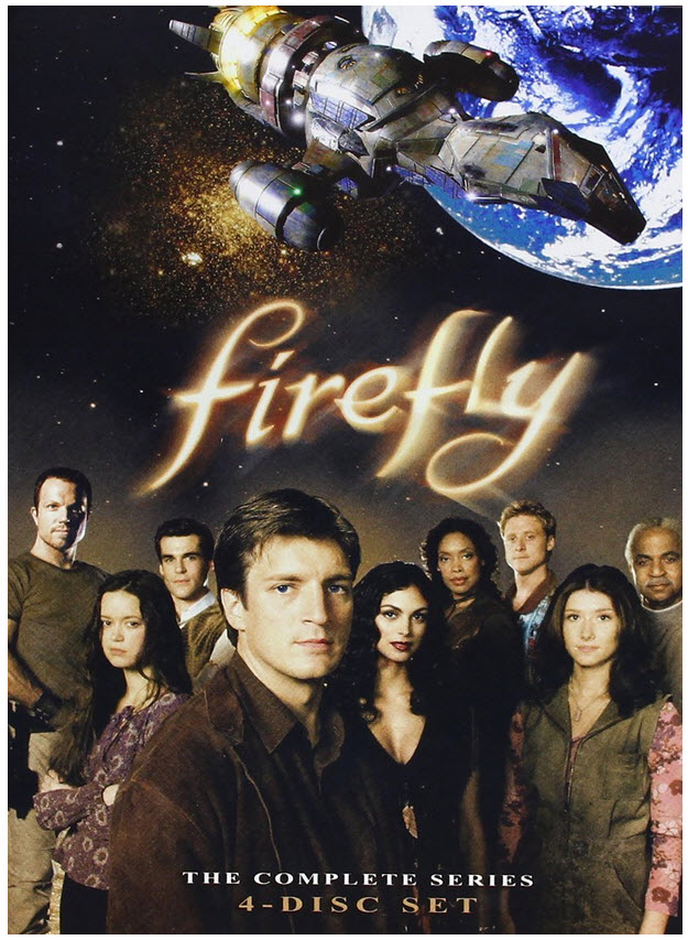 $9.99 Firefly: The Complete Series DVD