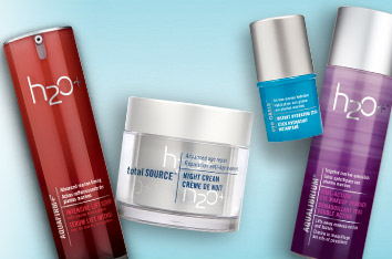 Buy 2 Get 1 Free(Mix & Match)Skincare Products @ H2O Plus