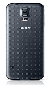 Samsung Galaxy S5 Black Wireless Charging Back Cover