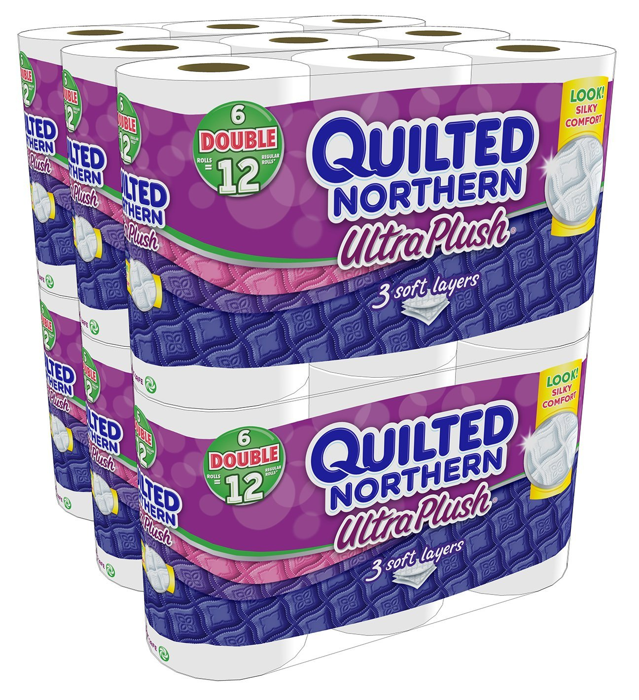 Quilted Northern Ultra Plush Bath Tissue, 48 Double Rolls
