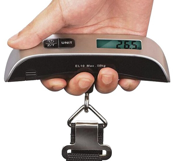 Baytek 110lb Digital Portable Luggage Scale w/ LCD Display