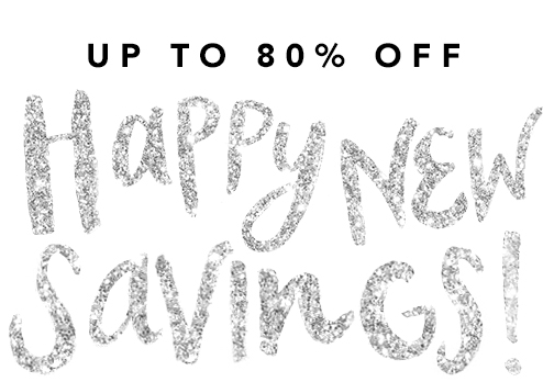 Up to 80% Off Happy New Year Savings @ Ideel