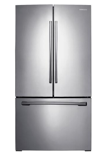 Samsung - 25.5 Cu. Ft. French Door Refrigerator - Stainless-Steel RF26HFENDSR