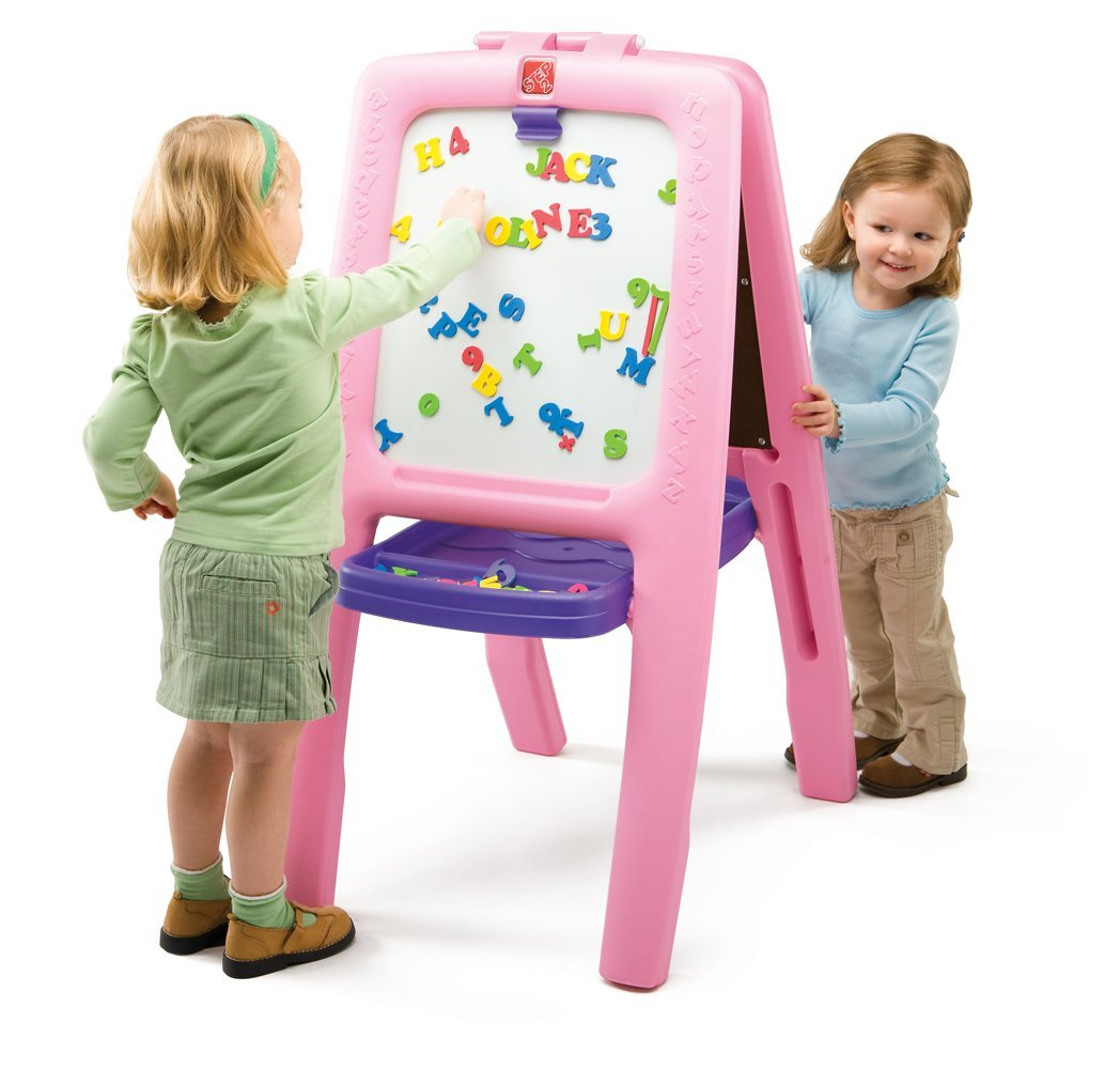 Step2 Pink Easel for Two @ Amazon