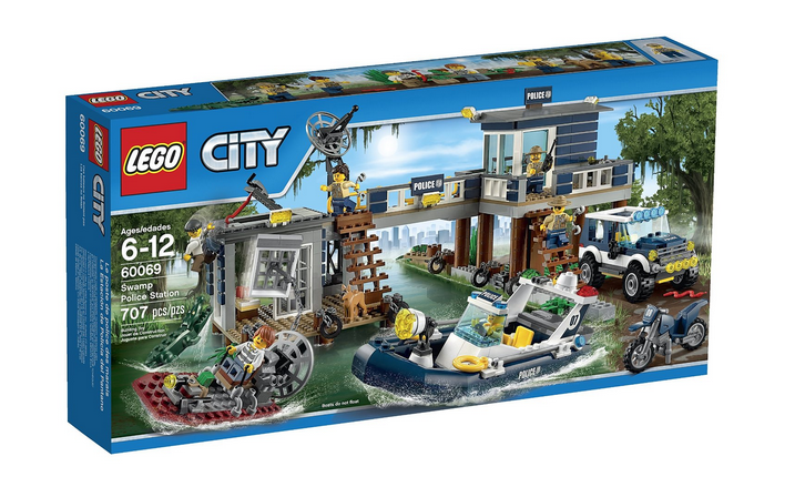 LEGO City Police Swamp Police Station 60069