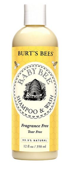 $10.42 Burt's Bees Baby Bee Fragrance Free Shampoo & Wash, 12 Fluid Ounces (Pack of 3)