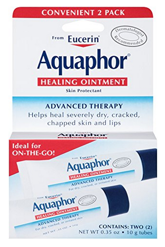 Aquaphor Healing Ointment Dry,Cracked and Irritated Skin Protectant,0.35 oz Dual Pack