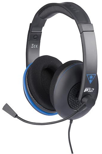 Turtle Beach Ear Force P12 Wired Amplified Stereo Gaming Headset