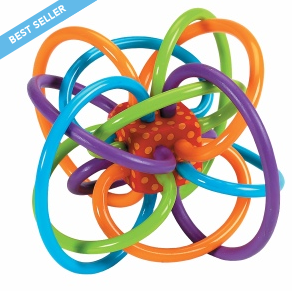 $7.56 Manhattan Toy Winkel Rattle and Sensory Teether Activity Toy