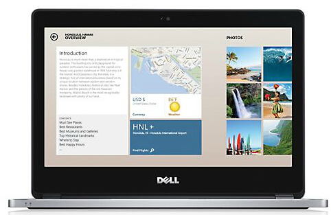 "$532.35 Dell Inspiron 14 5447 Intel Haswell Core i7 2GHz 14"" Touchscreen Laptop (Refurbished)"