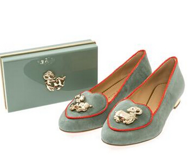 Up to 60% OffCHARLOTTE OLYMPIA Zodiac Flats & Clutches @ MATCHESFASHION.COM