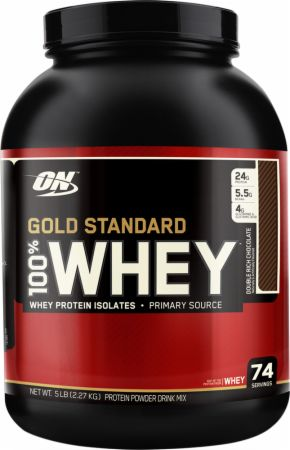 Optimum Nutrition Gold Standard 100% Whey 5LB Natural Vanilla Flavor