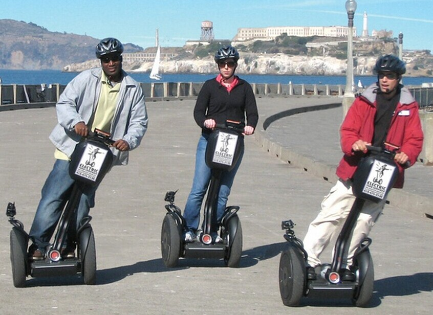 $32.3 Segway Tour of Fisherman's Wharf and the Waterfront