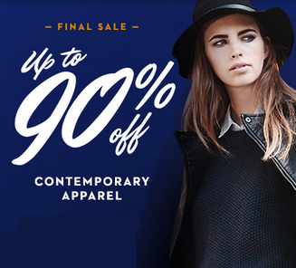 Up to 90% Off  Women's Contemporary Apparel Final Sale Event @ Gilt