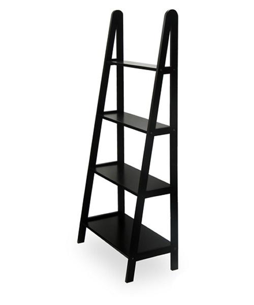 Winsome 4-Tier A-Frame Wood Etagere Bookcase