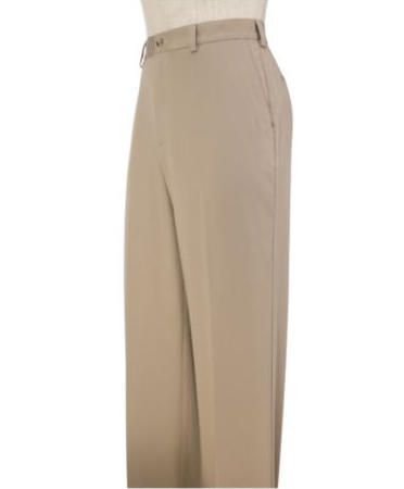 Executive Tailored Fit Plain Front Wrinkle Resistant Pants