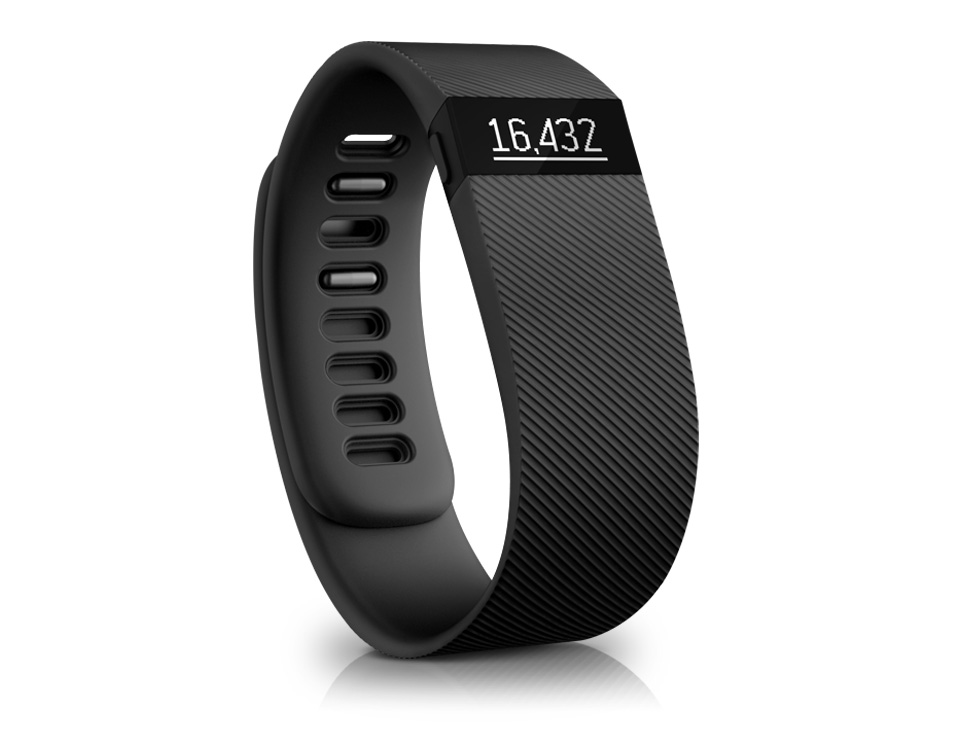Fitbit Charge Activity Tracker Black - iPhone and Android