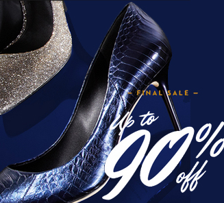 Up to 90% Off  Final Sale Event @ Gilt